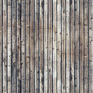 Busch 7420 - Décor façade bois, HO- 1:87, TT