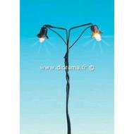 Brawa 4550 - Lampadaire miniature 1:160 - N,