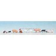 Noch 36711 - Animaux a la ferme 1:160