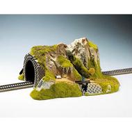 Décor miniature : Tunnel droit 1 voie, 1:87 - Noch 2200