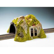 Décor miniature : Tunnel droit 2 voies 1:87 - Noch 2430
