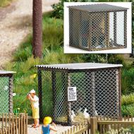 Décor miniature : Cage pour petits animaux - 1:87 - HO - Bush 1582