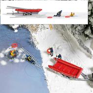 Miniatures - Sauvetage sur glace 1:87, HO - Busch 7855