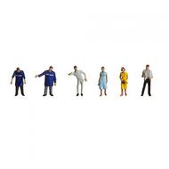Figurines miniatures : Personnel de station-service - 1:87 - Faller 151070