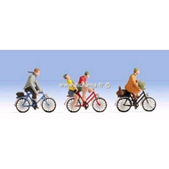 Figurines miniatures :  Cyclistes - Noch 15898