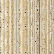 Busch 7419 - Plaques de décor façade bois clair, HO- 1:87, TT