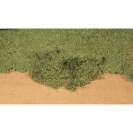 Feuillage vert moyen très réaliste surface 28 x 14 cm