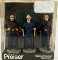 Miniature pompiers Allemands 1:24 - Preiser 196917