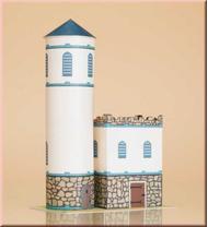 Maquette château en carton pour enfants*