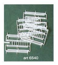 Heki 6540 - Glissières de sécurité 1:87