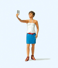 Figurines miniatures : Selfie 1:22,5 - G - Preiser 45524