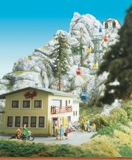 Bâtiment miniature : Bâtiment pour téléphérique 6280 - Brawa 6290