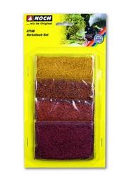 Végétation miniature : Set de feuillage rouge - Noch-7168