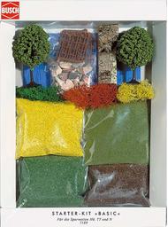 Kit de végétation miniature 1:87