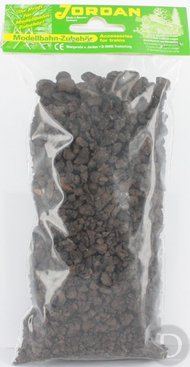 JORD-56 - cailloux bruns foncés 25 g  1:87***