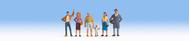 Personnages passants miniatures 1:160 - Noch 36478