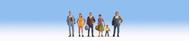 Personnages passants miniatures 1:160 - Noch 36479