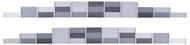 Décors miniatures : Kit barrières anti bruit - 1:87 HO - Kibri 38624