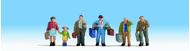 Figurines miniatures :  Voyageurs   - Noch 15224