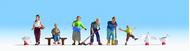 Fermiers, cultivateurs miniatures 1:160 - Noch 36629
