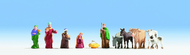 Figurines miniatures : Personnages de crèche   - Noch 15922