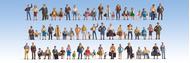 Mega set 60 figurines miniatures 1:160 - Noch 37070