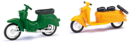 Véhicules miniatures : Scooters - 1:87 HO - Busch 210008901