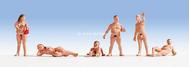 Figurines miniatures :  Nudistes  - Noch 15843
