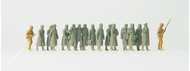 Prisonniers allemands miniatures - 1:87
