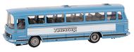 Diorama.fr - Véhicule miniature : MB O302 Touring (WIKING) - 1:87 HO - Faller 161485