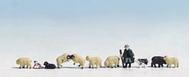 Noch 36750 - Berger et moutons 1:160
