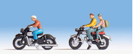Noch 36904 - Motocyclistes, 1:160 - N**