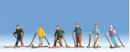 Figurines miniatures : Skieurs  - Noch 15828