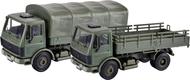 Voiture militaire miniature : Camions militaires - 1:87- Kibri 18051