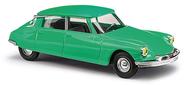 Voiture miniature : Citroën DS 19 verte - 1:87 HO - Bush 48002