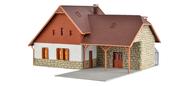 Maison en pierres miniature éclairé échelle 1:87, HO - Vollmer 48280