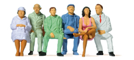 Preiser 63200 - Figurines miniatures : Personnages assis 1:32
