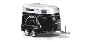 Voiture miniature - Remorque transport chevaux - 1:87 - HO - Bush 44944