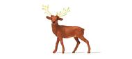 Animal miniature : Jeune cerf - 1:87 HO - Preiser 29517