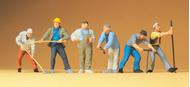 Preiser 65331 - Ouvriers de construction 1:43