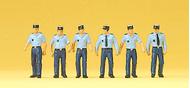 Figurines miniatures : Policiers français - 1:87 H0 - Preiser 10341
