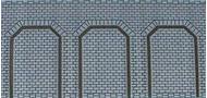 2 Plaques d'arcades trapèzes  - HO- 1/87 - Heki 72012