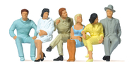 Preiser 63201 - Figurines miniatures : Personnages assis 1:32