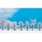 Noch 25075 - Arbres miniatures enneigés, 8 -10 cm