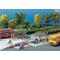 Abris bus miniatures pour modélisme ferroviaire - faller 180553