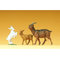 Chèvre et chevreaux 1:25 - Preiser 47041