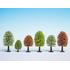 10 arbres miniatures  printaniers 5 - 9 cm 1:87, 1:120 - Noch 26906