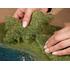 Végétation miniature : Flocage vert olive 20 x 23 cm - Noch 07272