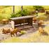 Décor miniature : Abri pour animaux - 1:87 HO - Noch 14379