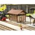 """Bâtiment miniature : Édicule d'aisance """"Honau"""" en découpe laser - 1:87 HO - Noch 66103"""